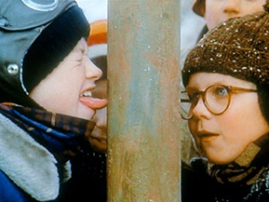 Christmas-Story-stuck-to-pole