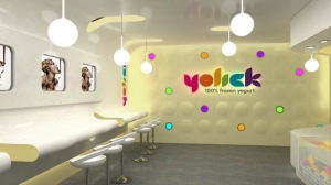 Yogurt Shop Design and Branding