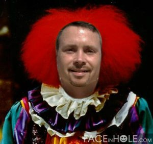 Phil clown