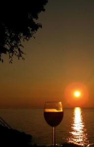 Wine Sunset