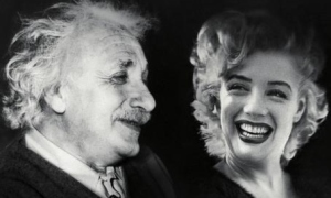 marilyn-monroe-advises-albert-einstein-small-57773