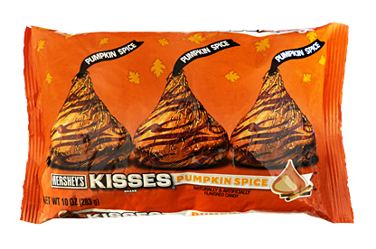 Pumpkin Spice Hershey's Kisses: If Pumpkin Spice was one of the ...